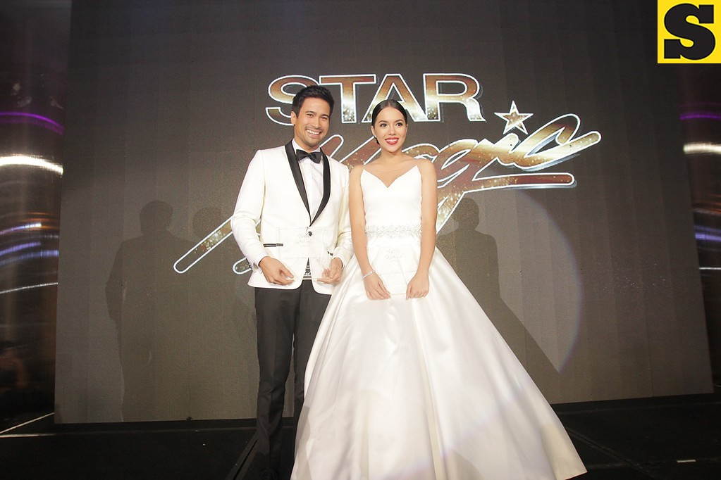 Stars of the Night Sam Milby and Julia Montes