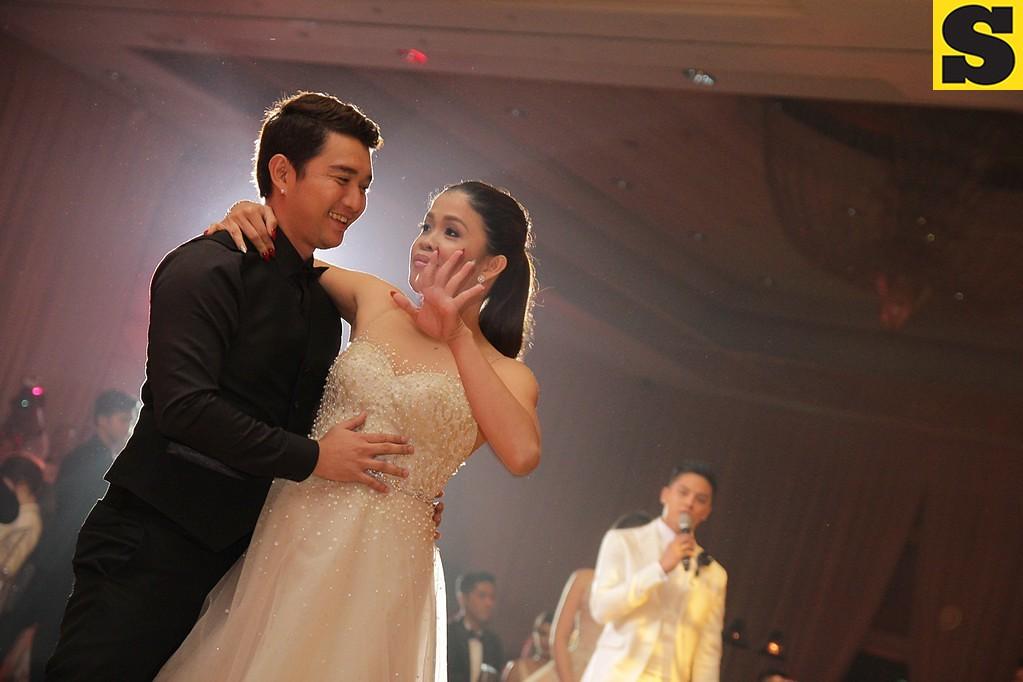 Showbiz couple Melai Cantiveros and Jason Francisco