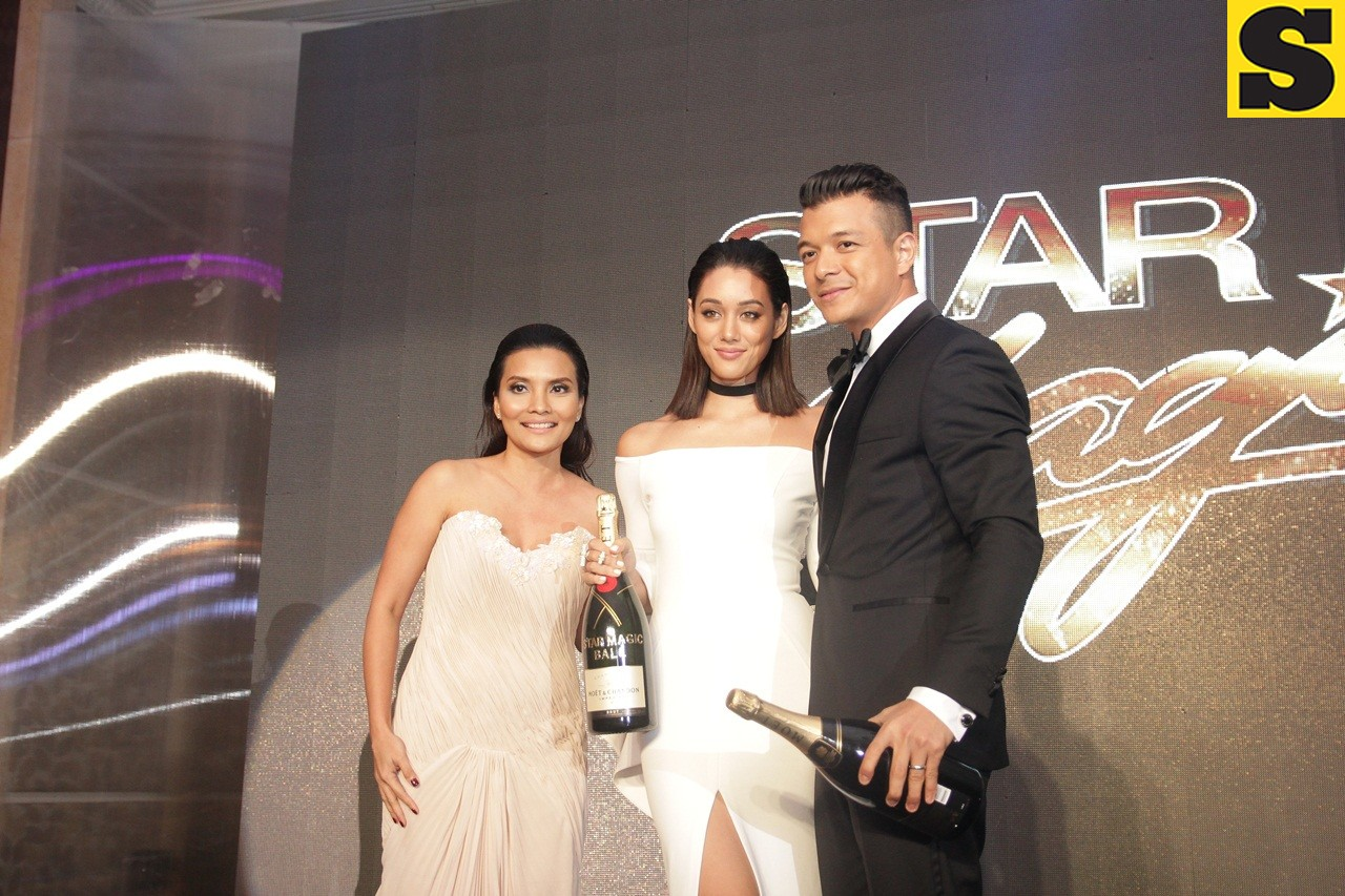 Moet and Chandon Fabulous Pair of the Night Kim Jones and Jericho Rosales