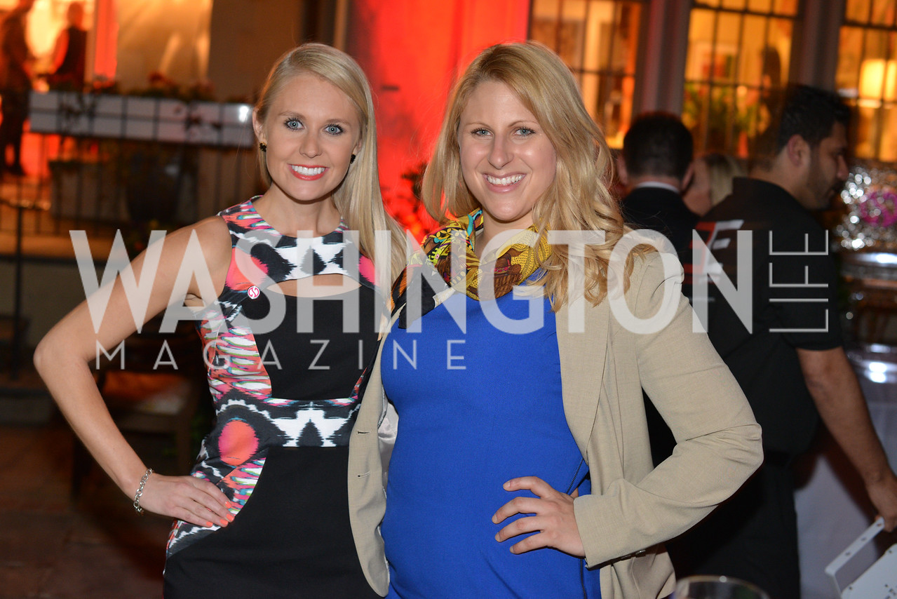 Lauren Culbertson, Jen Voss,  Story Partners kicks begins WHCD weekend with a salute to women in journalism.  Thursday, May 1st, 2014.  by Ben Droz.