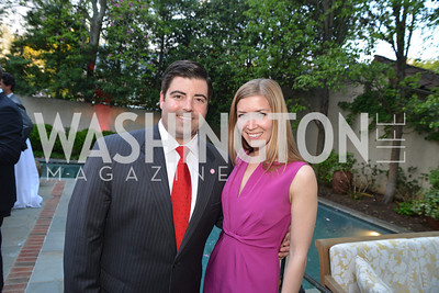Cameron Coursen, Maureen Beach , Story Partners kicks begins WHCD weekend with a salute to women in journalism.  Thursday, May 1st, 2014.  by Ben Droz.