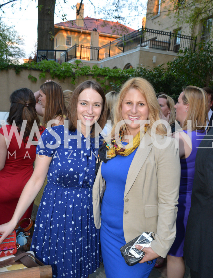 Julia Loffe, Jenn Voss, Story Partners kicks begins WHCD weekend with a salute to women in journalism.  Thursday, May 1st, 2014.  by Ben Droz.