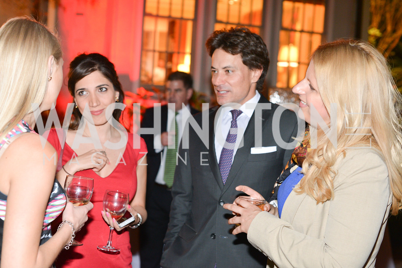 Lauren Culbertson, David Tafuri, Suzanne Kianpour,, Jen Voss, Story Partners kicks begins WHCD weekend with a salute to women in journalism.  Thursday, May 1st, 2014.  by Ben Droz.