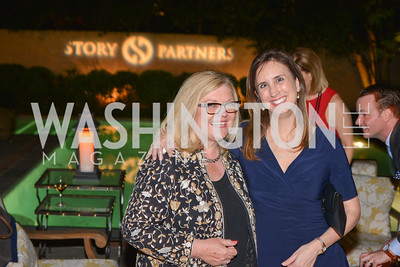 Gloria Story Dittus, Besy Fischer Martin, Story Partners kicks begins WHCD weekend with a salute to women in journalism.  Thursday, May 1st, 2014.  by Ben Droz.
