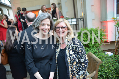 Heather Podesta, Gloria Story Dittus, Story Partners kicks begins WHCD weekend with a salute to women in journalism.  Thursday, May 1st, 2014.  by Ben Droz.