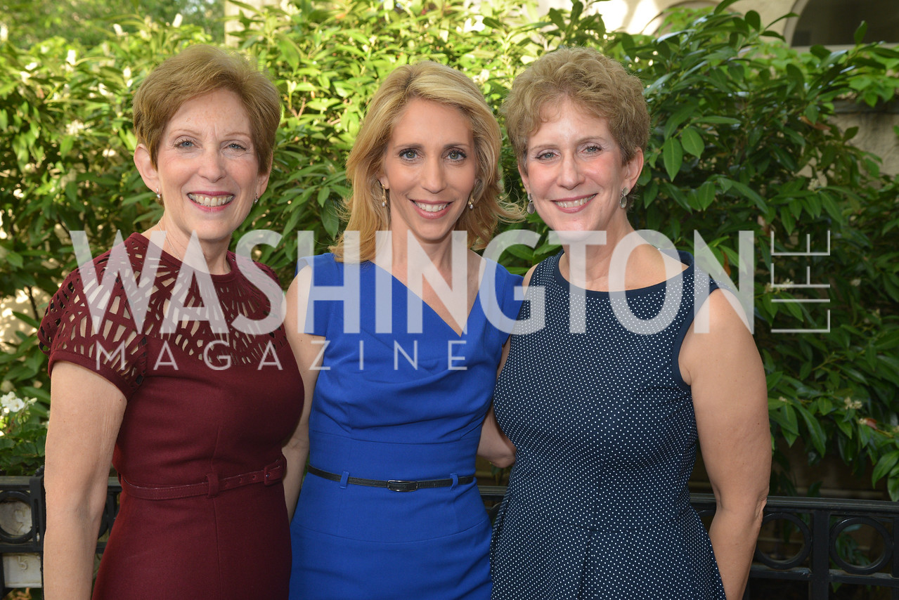 Madeline Rose, Dana Bash, Linda Wolf, Story Partners kicks begins WHCD weekend with a salute to women in journalism.  Thursday, May 1st, 2014.  by Ben Droz.