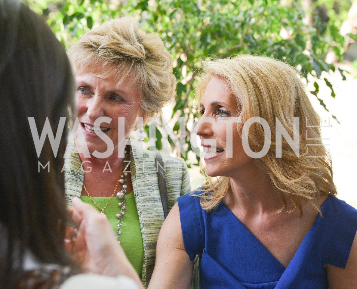 Gayle Manchin, Dana Bash,  Story Partners kicks begins WHCD weekend with a salute to women in journalism.  Thursday, May 1st, 2014.  by Ben Droz.