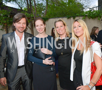 Christopher Reiter, Juleanna  Glover, Cathy Merrill Williams, Kate Bennett,  Story Partners kicks begins WHCD weekend with a salute to women in journalism.  Thursday, May 1st, 2014.  by Ben Droz.