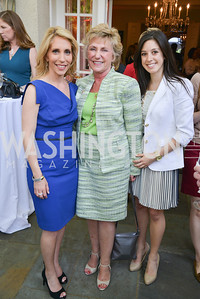 Dana Bash, Gayle Manchin, Katie Longo, Story Partners kicks begins WHCD weekend with a salute to women in journalism.  Thursday, May 1st, 2014.  by Ben Droz.