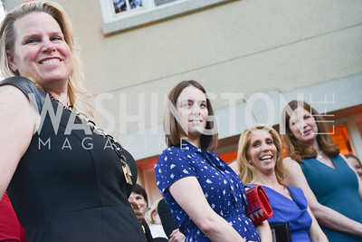 Cathy Merrill Williams, Julia Loffe, Dana Bash, Jan Crawford, Story Partners kicks begins WHCD weekend with a salute to women in journalism.  Thursday, May 1st, 2014.  by Ben Droz.