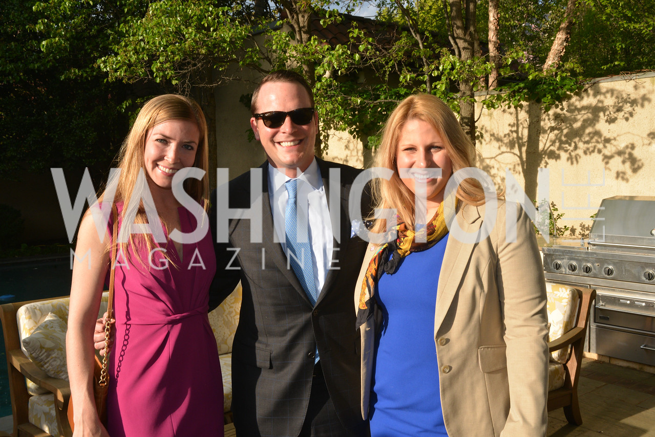 Maureen Beach, Amos Snead, Jenn Voss, Story Partners kicks begins WHCD weekend with a salute to women in journalism.  Thursday, May 1st, 2014.  by Ben Droz.