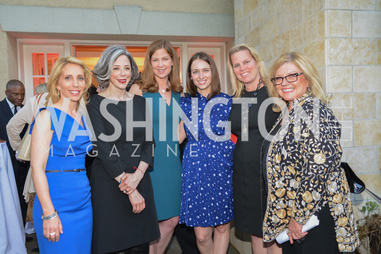 Dana Bash, Heather Podesta, Jan Crawford, Julia Loffe, Cathy Merrill Williams, Gloria Story Dittus,  Story Partners kicks begins WHCD weekend with a salute to women in journalism.  Thursday, May 1st, 2014.  by Ben Droz.
