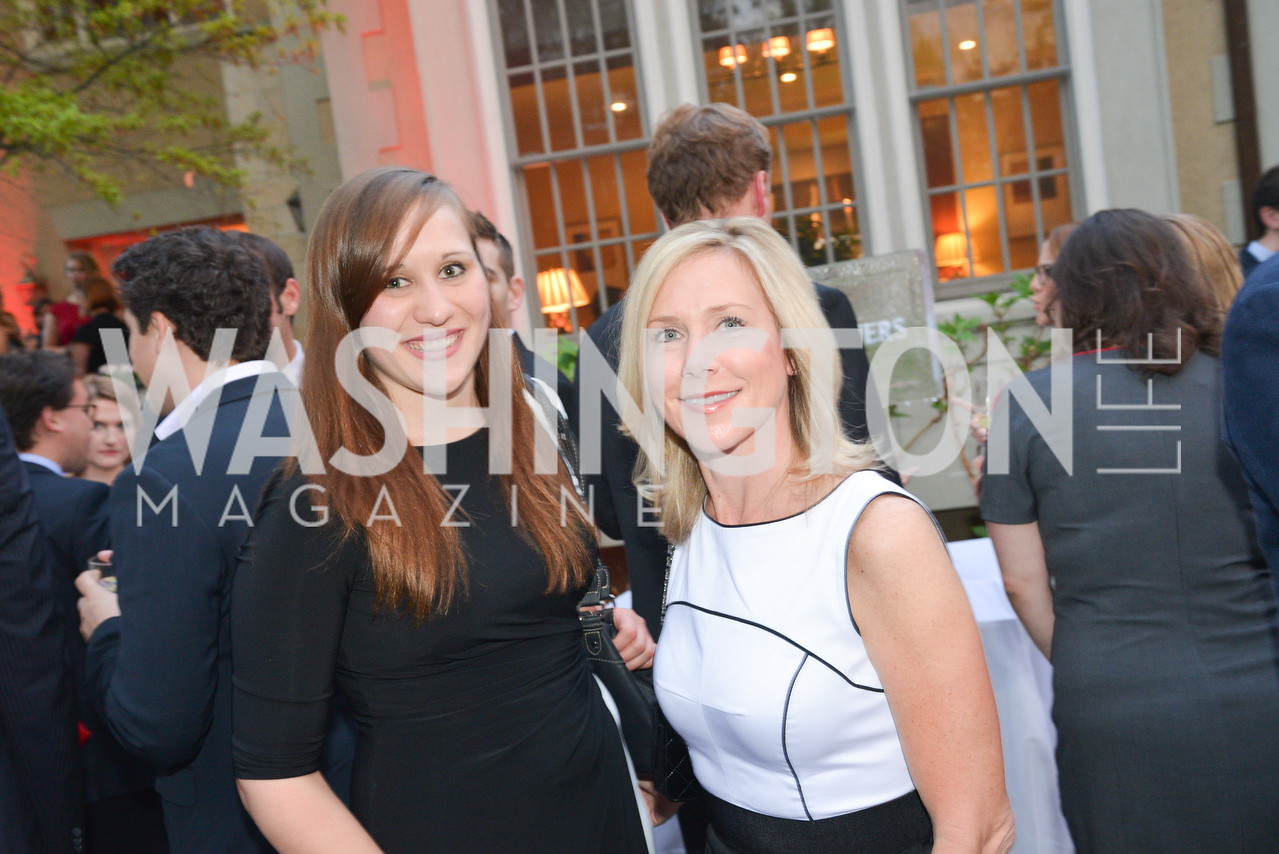 Grace Lamb, Carrie Stevenson , Story Partners kicks begins WHCD weekend with a salute to women in journalism.  Thursday, May 1st, 2014.  by Ben Droz.