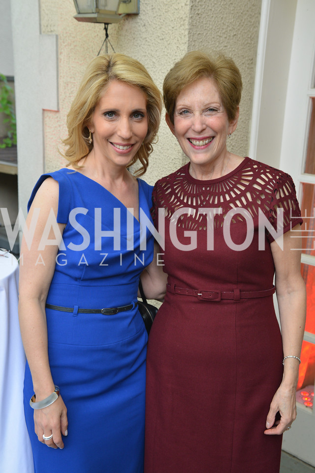 Dana Bash, Franci Schwartz, Story Partners kicks begins WHCD weekend with a salute to women in journalism.  Thursday, May 1st, 2014.  by Ben Droz.