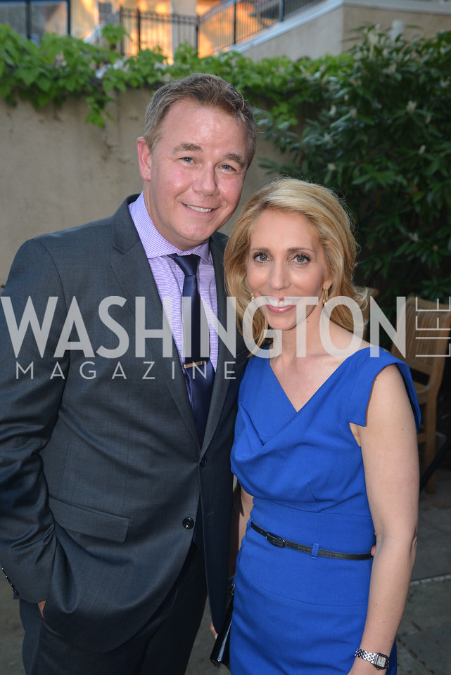 Spencer Garrett, Dana BashStory Partners kicks begins WHCD weekend with a salute to women in journalism.  Thursday, May 1st, 2014.  by Ben Droz.
