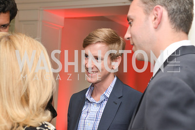 Chris Hughes talks with Gloria Story Dittus,Story Partners kicks begins WHCD weekend with a salute to women in journalism.  Thursday, May 1st, 2014.  by Ben Droz.
