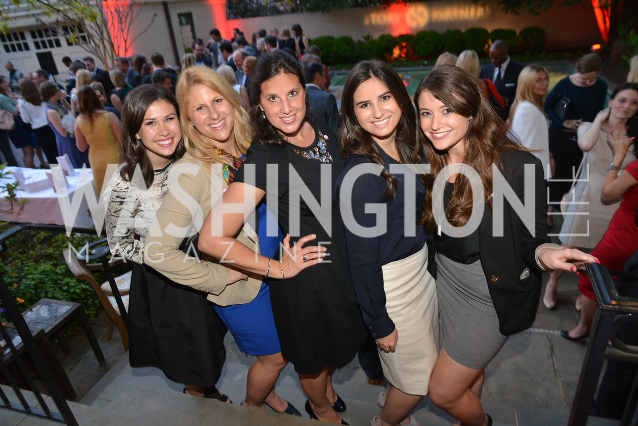 Olivia McDonald, Jen Voss, Gabrielle Beaumont, Elyse Petroni, Jackie Rodney,  Story Partners kicks begins WHCD weekend with a salute to women in journalism.  Thursday, May 1st, 2014.  by Ben Droz.