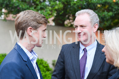 Chris Hughes, Congressman Chris Van Hollen, Katherine Van Hollen,  Story Partners kicks begins WHCD weekend with a salute to women in journalism.  Thursday, May 1st, 2014.  by Ben Droz.