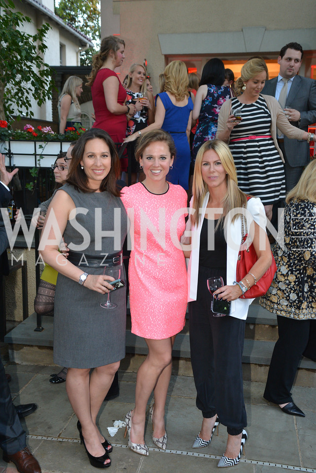 Nancy Cordes, Alicia Budich, Kate Bennett, Story Partners kicks begins WHCD weekend with a salute to women in journalism.  Thursday, May 1st, 2014.  by Ben Droz.