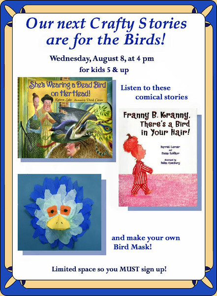 Field Library For the Birds! Flyer