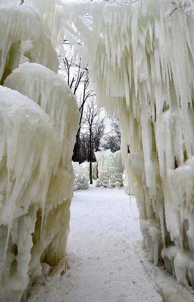 Stratton Mountain Ice Castles