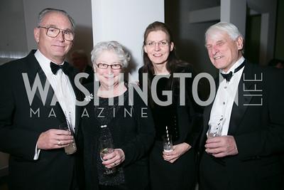 Robert Smythe, Marianne Smythe, Undine Nash, Carl Nash. Photo by Alfredo Flores. Studio Theatre Gala. Studio Theatre. February 8, 2014
