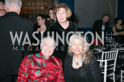 Tom Mansbach, Nina Herrick, Barbara Hawthorn. Photo by Alfredo Flores. Studio Theatre Gala. Studio Theatre. February 8, 2014.