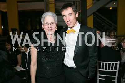 Susan Butler, David Muse. Photo by Alfredo Flores. Studio Theatre Gala. Studio Theatre. February 8, 2014.CR2
