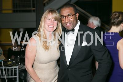 Isabel Hagbrink, Eric Motley. Photo by Alfredo Flores. Studio Theatre Gala. Studio Theatre. February 8, 2014.