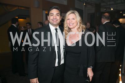 Hassan Zavareei, Natalie Zavareei. Photo by Alfredo Flores. Studio Theatre Gala. Studio Theatre. February 8, 2014-3.CR2