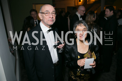Robert Wittes, Janet Wittes. Photo by Alfredo Flores. Studio Theatre Gala. Studio Theatre. February 8, 2014-3.CR2
