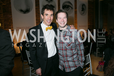 David Muse, Joey Caverly. Photo by Alfredo Flores. Studio Theatre Gala. Studio Theatre. February 8, 2014.CR2