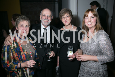 Nancy Bliss, Mark Aron, Cindy Aron, Sheila Boyle. Photo by Alfredo Flores. Studio Theatre Gala. Studio Theatre. February 8, 2014-3.CR2