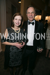 Victoria Rostow, David Hiatt. Photo by Alfredo Flores. Studio Theatre Gala. Studio Theatre. February 8, 2014-3.CR2