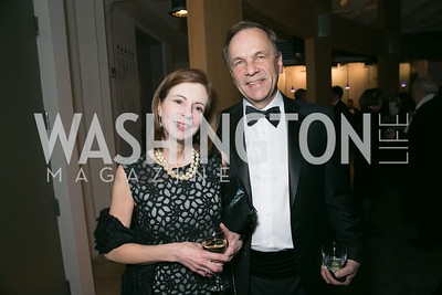 Victoria Rostow, David Hiatt. Photo by Alfredo Flores. Studio Theatre Gala. Studio Theatre. February 8, 2014-3.CR2