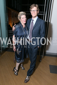 Anne Kahoe, Chris Mills. Photo by Alfredo Flores. Studio Theatre Gala. Studio Theatre. February 8, 2014.