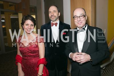 Maggie Farley, Marcus Brauchli, Gerry Rosberg. Photo by Alfredo Flores. Studio Theatre Gala. Studio Theatre. February 8, 2014-3.CR2