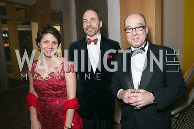 Maggie Farley, Marcus Brauchli, Gerry Rosberg. Photo by Alfredo Flores. Studio Theatre Gala. Studio Theatre. February 8, 2014-3.CR2
