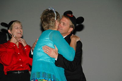 Your past president is wearing a tiara and your incoming president dons mouse ears is a social media marketing