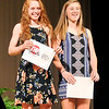 John P. Cleary | The Herald Bulletin <br /> THB Sports Awards girls Scholar Athlete finalists are Megan Moran, of Anderson, and Hillery Shepherd of Shenadoah.