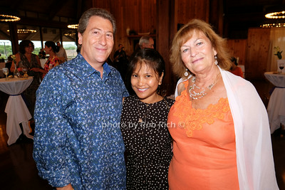 Paul Monte, Venus Yunker, and Laraine Creegan photo by Rob Rich/SocietyAllure.com © 2014 robwayne1@aol.com 516-676-3939