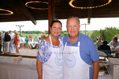 Susan Wyrostek and Bill Wyrostek from Ciao by the Beach photo by Rob Rich/SocietyAllure.com © 2014 robwayne1@aol.com 516-676-3939