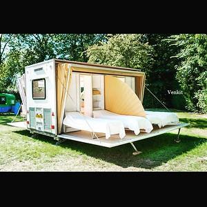 Amazing campsite caravans