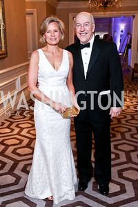 Alison and Kurt Newman. Photo by Tony Powell. The 2014 Children's Ball. Ritz Carlton. April 11, 2014