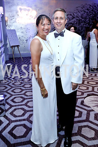 May Liang and Jim Lintott. Photo by Tony Powell. The 2014 Children's Ball. Ritz Carlton. April 11, 2014