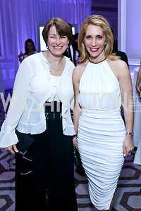 Sen. Amy Klobuchar, Dana Bash. Photo by Tony Powell. The 2014 Children's Ball. Ritz Carlton. April 11, 2014
