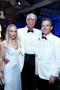 Cindy Jones, Paul Hills, Evan Jones. Photo by Tony Powell. The 2014 Children's Ball. Ritz Carlton. April 11, 2014