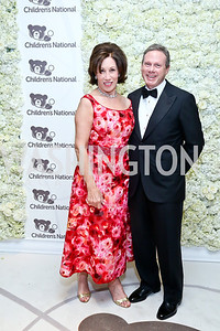 Catherine and Wayne Reynolds. Photo by Tony Powell. The 2014 Children's Ball. Ritz Carlton. April 11, 2014