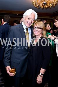 Kevin Klose, Deborah Ashford. Photo by Tony Powell. Meridian Global Leadership Awards. Four Seasons. June 10, 2014