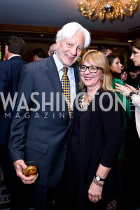 Kevin Klose, Deborah Ashford. Photo by Tony Powell. Meridian Global Leadership Awards. Four Seasons. June 10, 2014